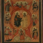 003 Russian icon - the New Testament Trinity