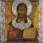 006_Russian icon depicting Christ Pantokrator