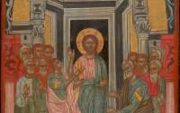 9319 Icon depicting Apostle Thomas