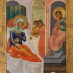 HVB4409 Russian icon - Birth of the Virgin