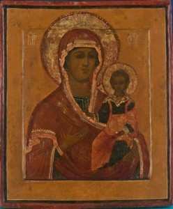 HVB9081_ Russian icon - The Mother of God of Smolensk