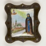 MG 5346_RUSSIAN ENAMELLED PILGRIMS ICON