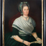 Dutch school Portrait of Christine Voet (1744-1788), oil on canvas in contemporary frame, 80 x 60 cm