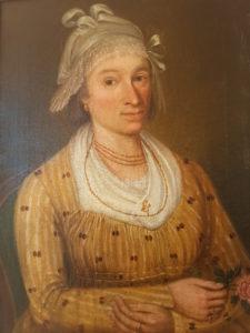 Женский кулон мужского итальянского костюма, 18th century