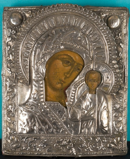 HVB4401 RUSSIAN ICON - THE MOTHER OF GOD OF KAZAN