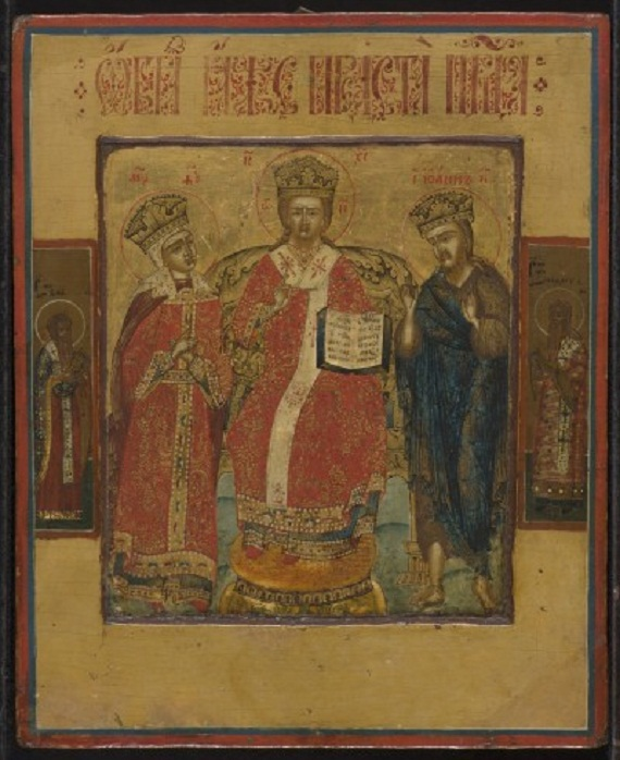 IMG 5130 Russian icon depicting Deesis