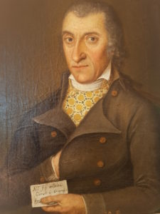 Портрет итальянского мужского костюма, конец XNXX в.