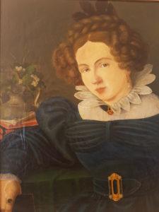 Портрет немецкой элегантной молодой леди