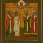 MG9349 Russian Icon Four Chosen Saints