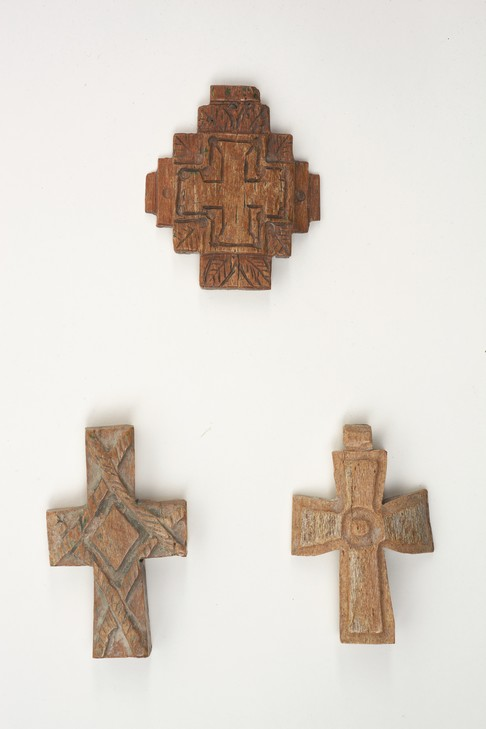 MG 5359 THREE BONE CROSSES, BYZANTINE 14 TH CENTURY